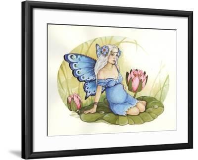 Rose-Linda Ravenscroft-Framed Giclee Print