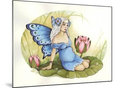 Rose-Linda Ravenscroft-Mounted Giclee Print