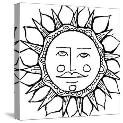 Sun Guy-Laura Miller-Stretched Canvas Print
