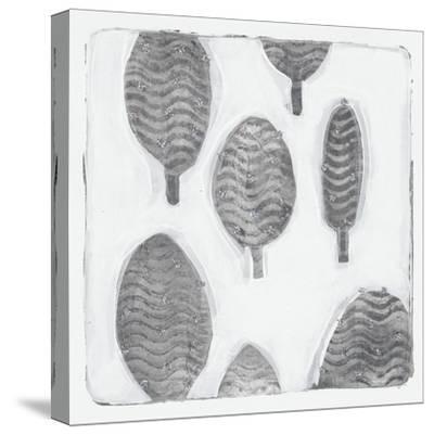 Silver Xmas-Maria Pietri Lalor-Stretched Canvas Print