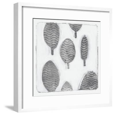 Silver Xmas-Maria Pietri Lalor-Framed Giclee Print