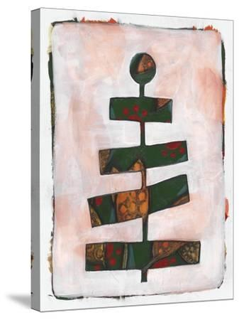 Xmas Tree 2-Maria Pietri Lalor-Stretched Canvas Print