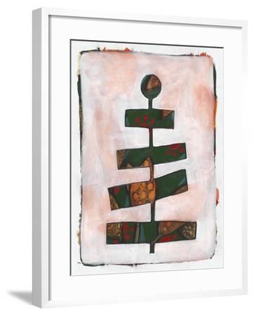 Xmas Tree 2-Maria Pietri Lalor-Framed Giclee Print