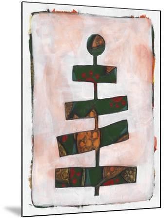 Xmas Tree 2-Maria Pietri Lalor-Mounted Giclee Print