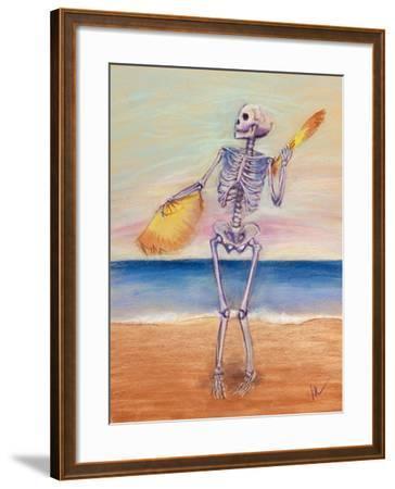 Skelly Dancer No. 10-Marie Marfia-Framed Giclee Print