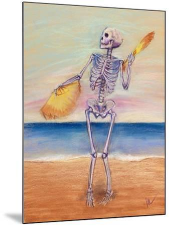 Skelly Dancer No. 10-Marie Marfia-Mounted Giclee Print