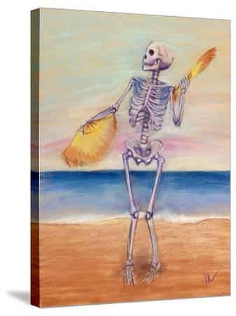 Skelly Dancer No. 10-Marie Marfia-Stretched Canvas Print