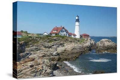 Portland Maine-Karen Williams-Stretched Canvas Print