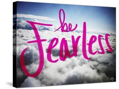 Be Fearless-Kimberly Glover-Stretched Canvas Print