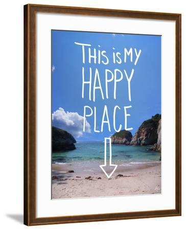 This Is My Happy Place-Kimberly Glover-Framed Giclee Print