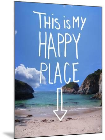 This Is My Happy Place-Kimberly Glover-Mounted Giclee Print