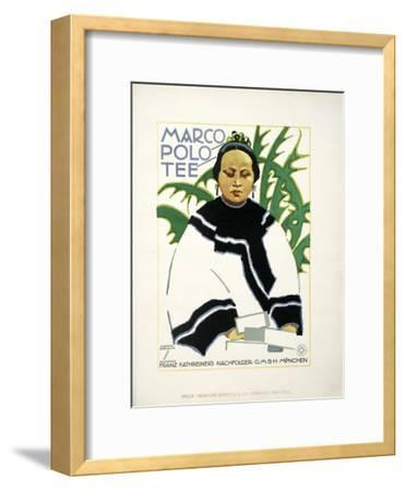 Marco Polo Plant-Marcus Jules-Framed Giclee Print