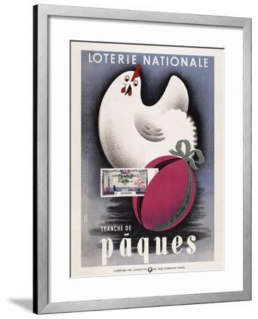 Loterie Nationale - Paques-Marcus Jules-Framed Giclee Print
