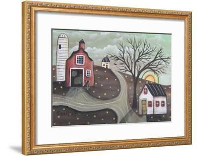 Barn Silo-Karla Gerard-Framed Giclee Print