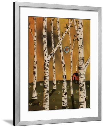 Birch Grove 1-Karla Gerard-Framed Giclee Print