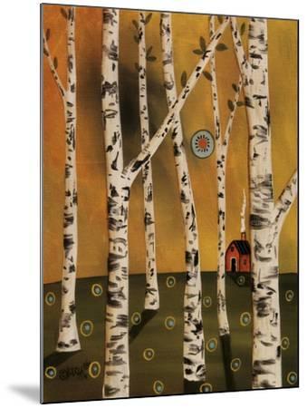 Birch Grove 1-Karla Gerard-Mounted Giclee Print