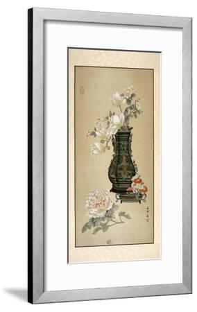 Flowers in Vase-Marcus Jules-Framed Giclee Print