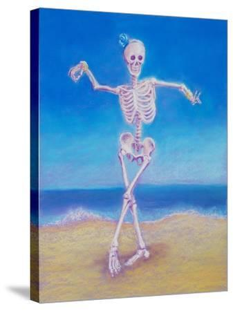 Skelly Dancer I-Marie Marfia-Stretched Canvas Print