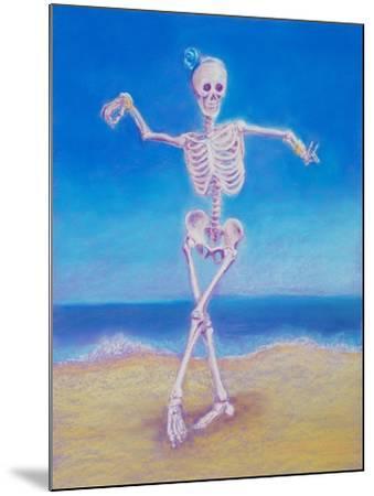 Skelly Dancer I-Marie Marfia-Mounted Giclee Print