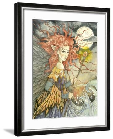 A Storms Brewing-Linda Ravenscroft-Framed Giclee Print
