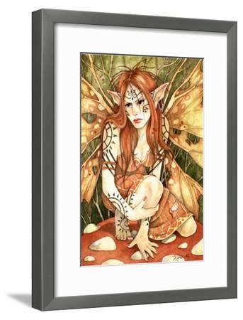 Firestarter-Linda Ravenscroft-Framed Giclee Print