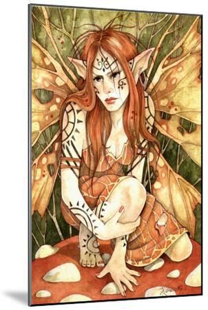 Firestarter-Linda Ravenscroft-Mounted Giclee Print