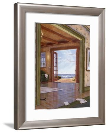 Interior with Cat Tail-Lee Mothes-Framed Giclee Print