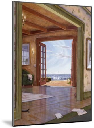 Interior with Cat Tail-Lee Mothes-Mounted Giclee Print