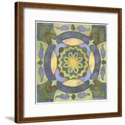 Geometry and Color Part 2 - # 4-Julie Goonan-Framed Giclee Print