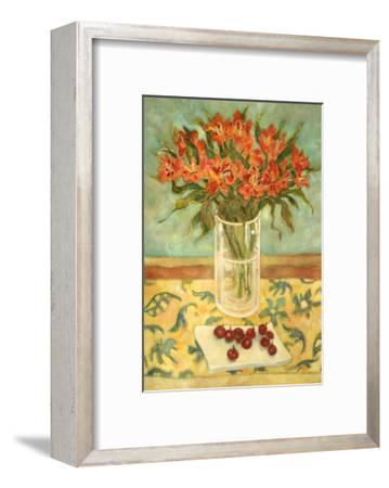 Orange Flowers-Lorraine Platt-Framed Giclee Print