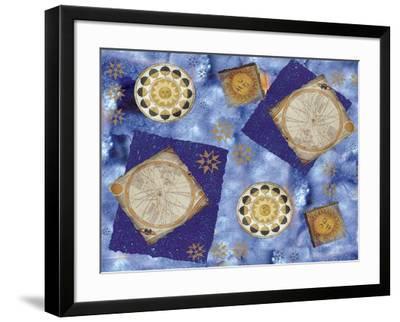 Celestial Movement-Maria Trad-Framed Giclee Print