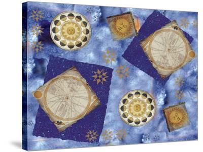 Celestial Movement-Maria Trad-Stretched Canvas Print