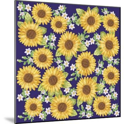 Sunflower-Maria Trad-Mounted Giclee Print