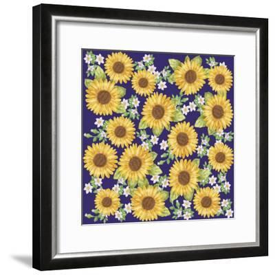 Sunflower-Maria Trad-Framed Giclee Print
