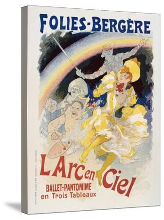 Folies Bergere-Marcus Jules-Stretched Canvas Print