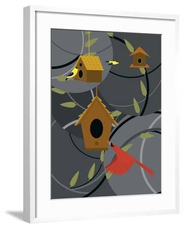 The Neighborhood-Marie Sansone-Framed Giclee Print