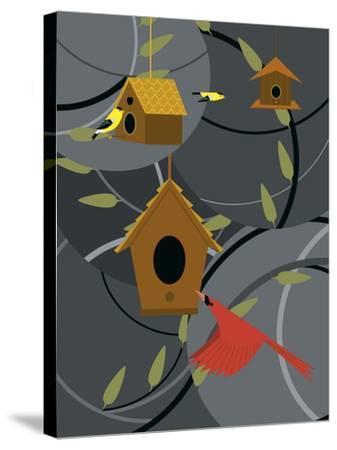 The Neighborhood-Marie Sansone-Stretched Canvas Print