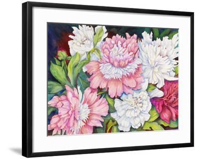 A Peony Cluster-Joanne Porter-Framed Giclee Print