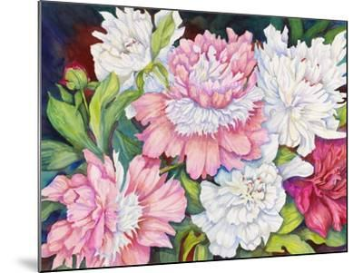 A Peony Cluster-Joanne Porter-Mounted Giclee Print