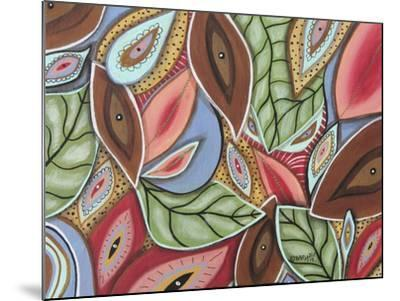 Leaves Medley 1-Karla Gerard-Mounted Giclee Print