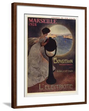 Marseille 1908-Marcus Jules-Framed Giclee Print