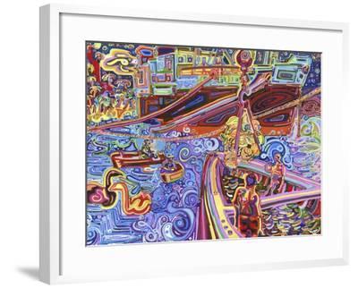 Banana Crane-Josh Byer-Framed Giclee Print