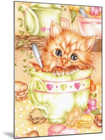 Teacup-Karen Middleton-Mounted Giclee Print