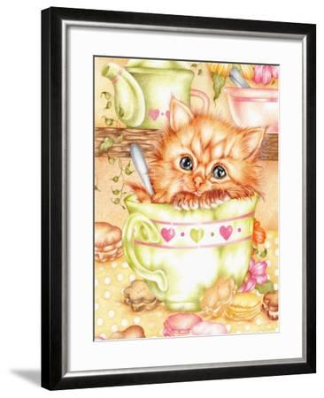 Teacup-Karen Middleton-Framed Giclee Print