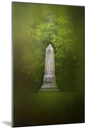 War Monument in Spring-Jai Johnson-Mounted Giclee Print