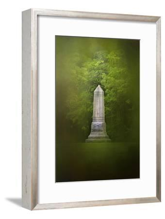 War Monument in Spring-Jai Johnson-Framed Giclee Print