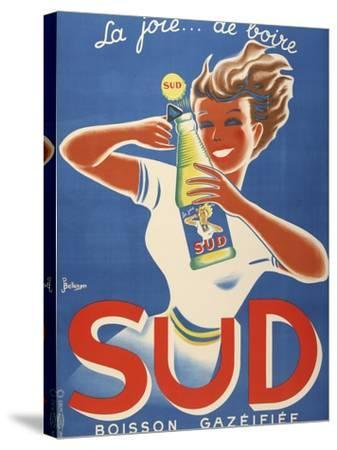 Sud Boisson Gazeifiee-Marcus Jules-Stretched Canvas Print