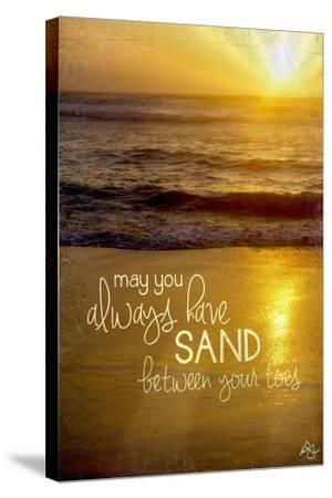 Sand Between Your Toes 2-Kimberly Glover-Stretched Canvas Print