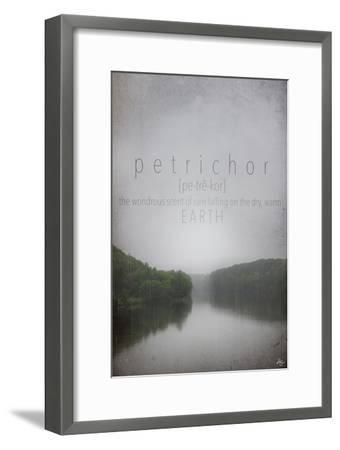 Petrichor Definition-Kimberly Glover-Framed Premium Giclee Print