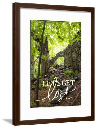 Let's Get Lost-Kimberly Glover-Framed Premium Giclee Print